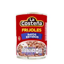 FRIJOLES BAYOS ENTEROS 560G LA COSTEÑA