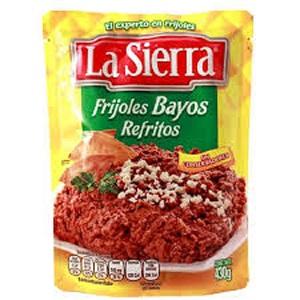Frijoles Bayos Refritos La Sierra