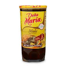 Mole Doña María en pasta