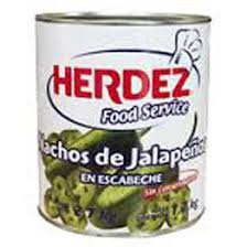 Nachos Jalapeños Herdez 2.7Kg