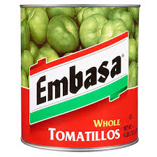 Tomatillo verde entero 2.7Kg