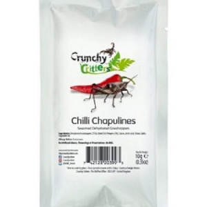 Chapulines Enchilados 10g