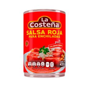 salsa roja la costena para enchiladas