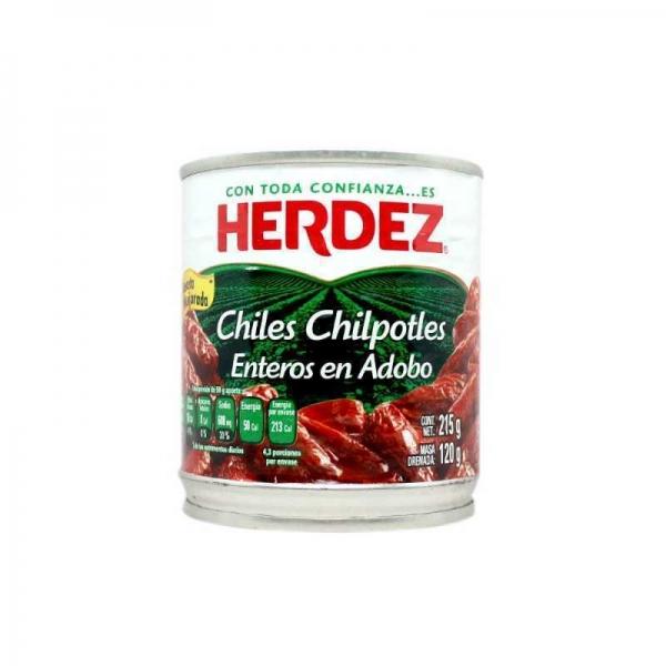 Chipotle en adobo 215g Herdez